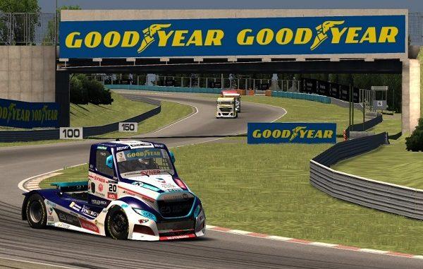 FIA ETCR Sanal Kamyon Yarışları.