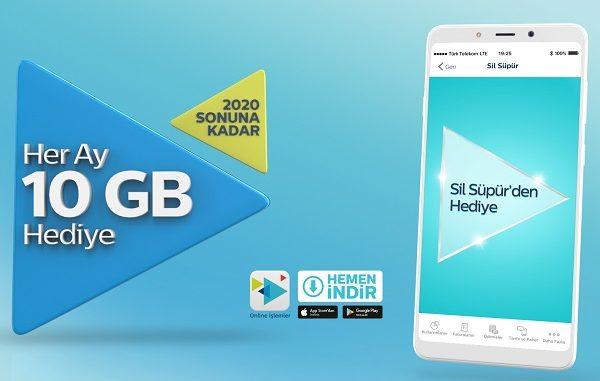 Türk Telekom Sil Süpür kampanyası.
