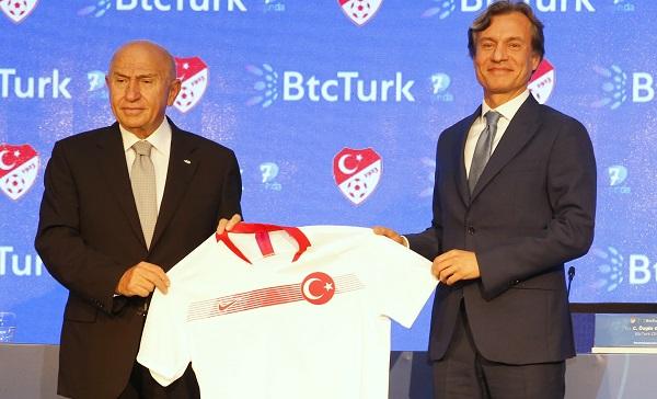BtcTurk Milli Takımlarının Ana Sponsoru.