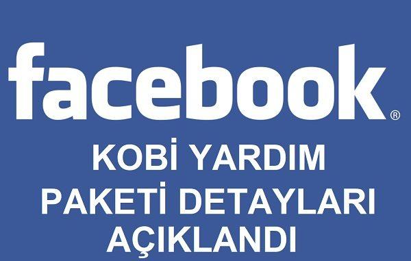 Facebook Türkiye Kobi Yardım Paketi.