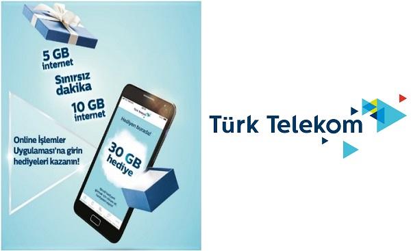 Hediye internet Türk Telekom