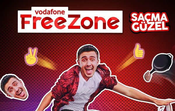 Hediye internetVodafone FreeZone.
