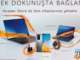 HuaweiTek Dokunuşta Bağlan.