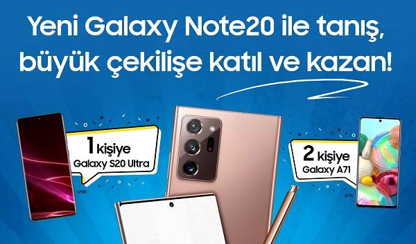 Samsung Mağazalarıyeni Galaxy Note20.