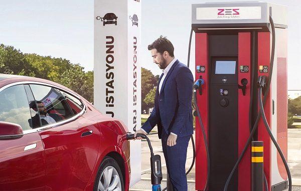 Zorlu Energy Solutions Şarj istasyonları.