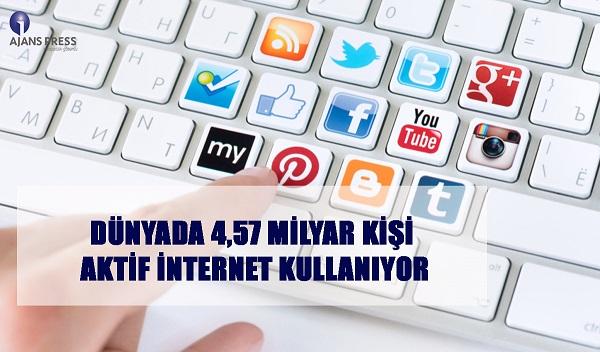 internet kullanıcı sayısı ne kadar?