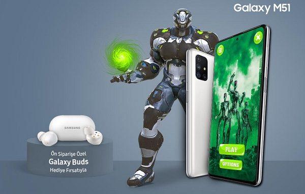 Samsung Galaxy M51 fiyatı.