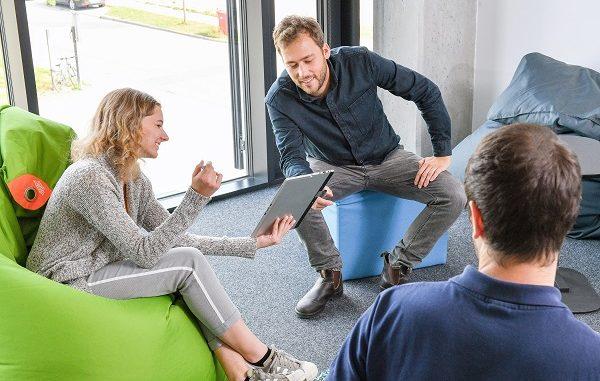 Audi yazılım geliştirme merkezi.