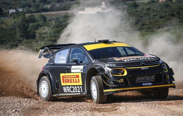 Pirelli WRC lastikleri.
