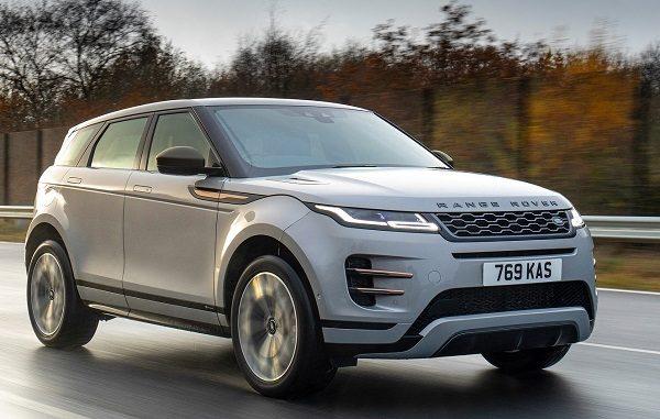 Range Rover Evoque hibrit fiyatı.