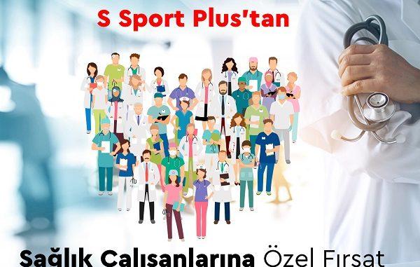 S Sport Plus sağlık çalışanları.