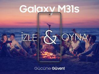 Samsung Galaxy M31s fiyatı.
