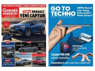 Teknoloji Dergileri GoToTechno Kasım.