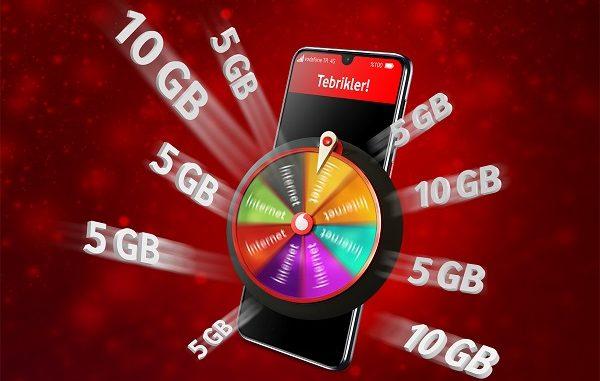 Vodafone Hediye Çarkı.