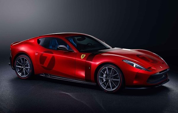 özel üretim otomobiller Ferrari.