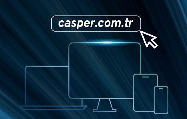 Casper com tr yenilendi.