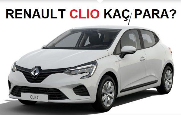 Renault Clio Fiyat Listesi Kasım