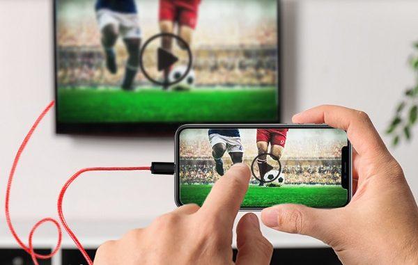 Telefondaki görüntü televizyona nasıl aktarılır?