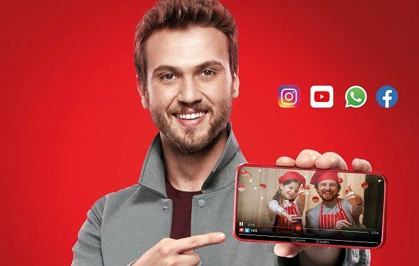 Vodafone Red sınırsız tarifeler.