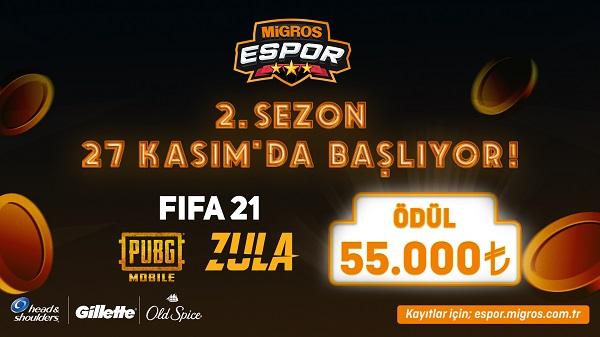 espor turnuvaları Migros