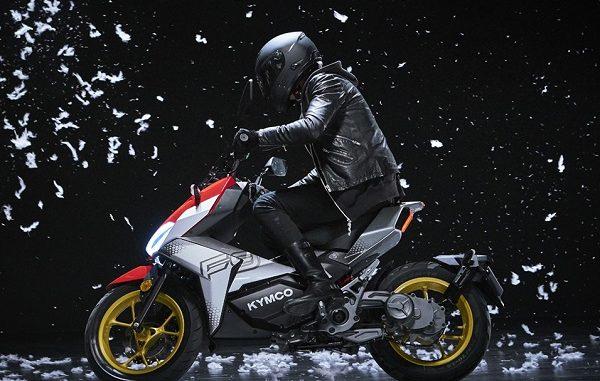 KYMCO F9 Elektrikli Motosiklet.