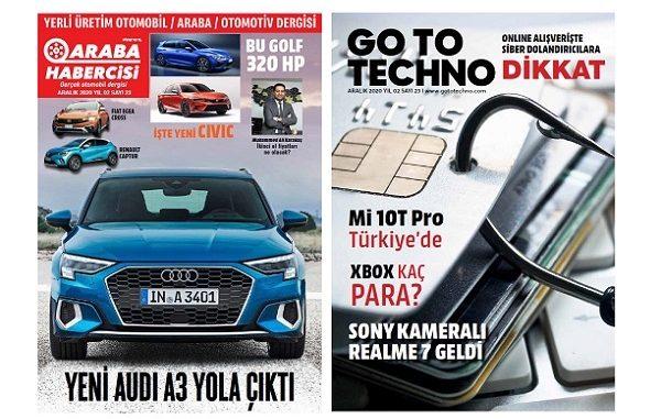 Teknoloji Dergileri GoToTechno Aralık