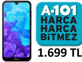 A101 HUAWEI Y5 2019 fiyatı.