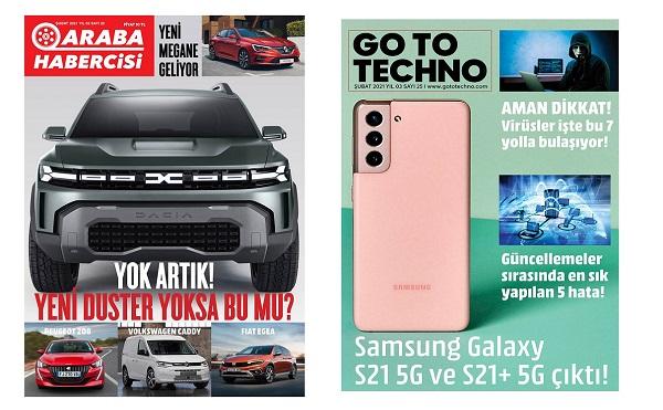 Teknoloji Dergileri GoToTechno Dergisi 2021.