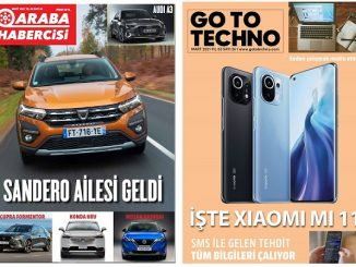 Teknoloji dergileri Mart 2021.