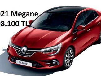 2021 Megane Sedan fiyatları