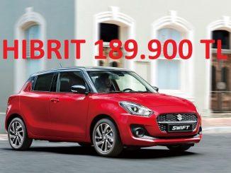Suzuki Swift Hibrit fiyatı