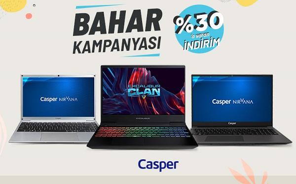 Casper Büyük Bahar Kampanyası.