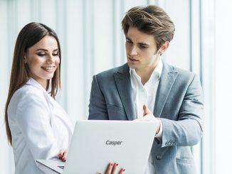 Casper iş için teknoloji.