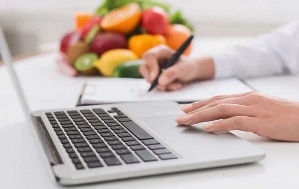 Online diyetisyen hizmetleri.