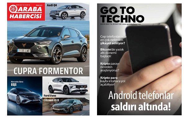 Teknoloji Dergileri Mayıs 2021.