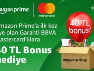 Amazon Garanti BBVA Mastercard.