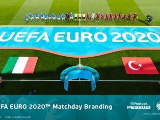 UEFA EURO 2020 PES 2021.