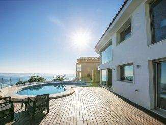 Yaz tatili kiralık villa.