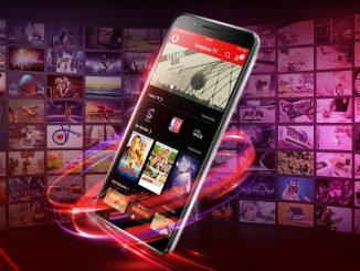 Vodafone TV Euro 2020.