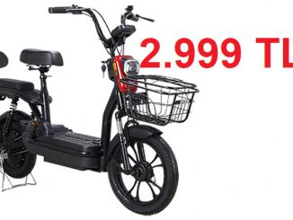 Elektrikli Motorlu Bisiklet A101