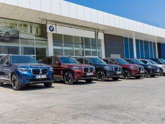 Enterprise Türkiye BMW iX3.