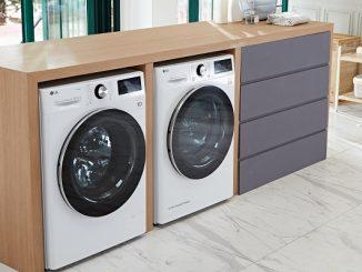 LG Buharlı Çamaşır Makinesi.