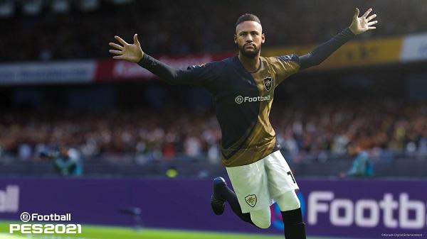 Neymar eFootball PES 2021.