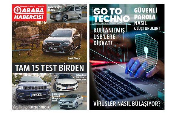 Teknoloji Dergileri Ağustos 2021.