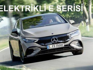 Mercedes Benz EQE 2021.