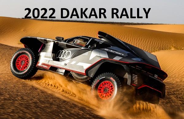 RS Q etron Dakar.