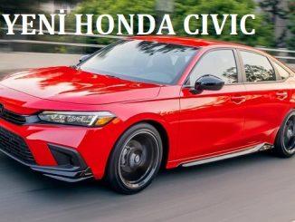 Yeni Honda Civic tanıtımı.